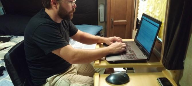 Making an RV Office