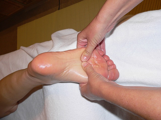 Essential Oil Foot Massage