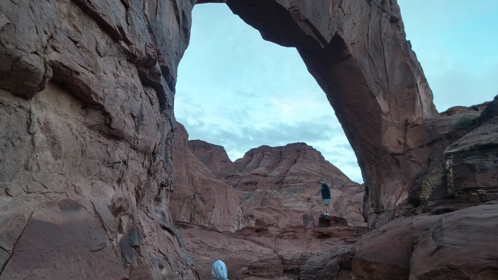 Hidden Arch near Monument Valley