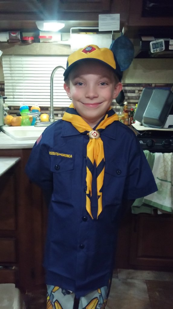 Ready to start Cub Scouts!