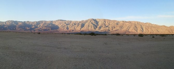 Boondocking at Anza Borrego Desert State Park