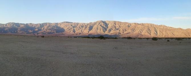 Boondocking at Anza Borrego Desert State Park