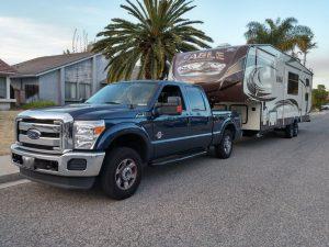 Our fulltime RVing truck