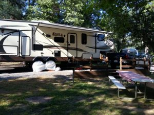 Traveling fulltime in a 5th wheel RV