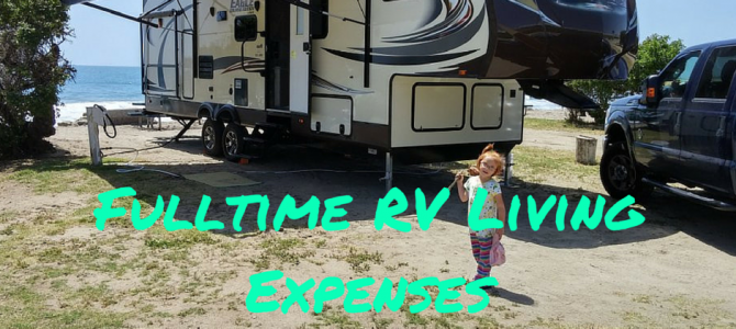 Monthly Cost of Full-time RV Travel – Real Travel Expenses for a Family of 5