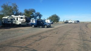 Staying on Route 66 at Sun Valley RV Park
