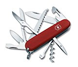Victorinox Swiss Army Huntsman II Pocket Knife, Red