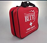 Tempered Blue First Aid with Nylon Bag (115-Pieces) - Excellent RV First Aid Kit