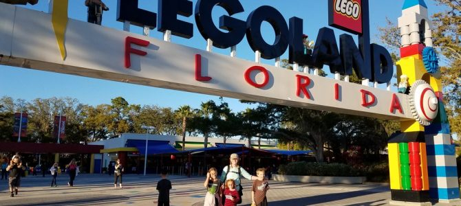 Roadschoolers Taking Over Legoland Florida