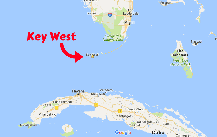Key west closer to cuba than to walmart five in a 5th and oh is it crowded we tried driving to the downtown area and found it was almost impossible to find a place to park the truck not to mention the price gumiabroncs Image collections