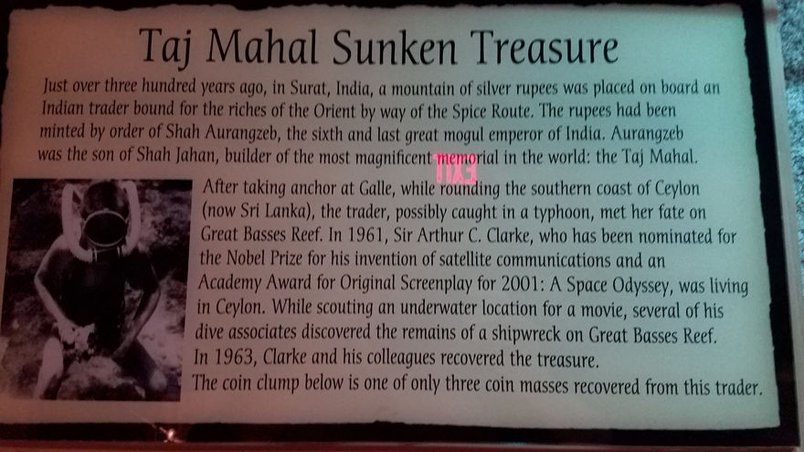 Taj Mahal Sunken Treasure
