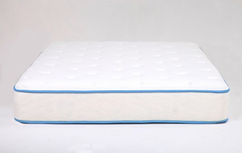 "Arctic Dreams 10"" Cooling Gel Mattress Made in the USA, Queen Short"