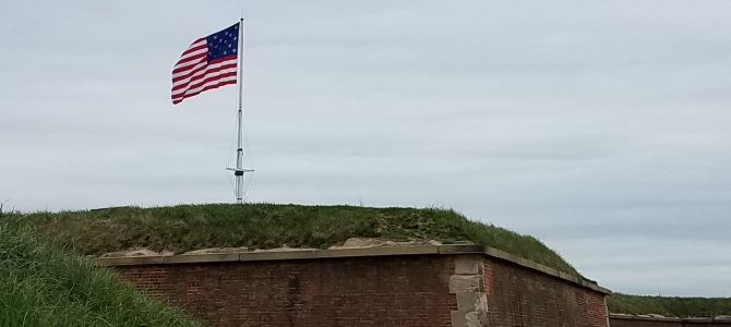 Fort McHenry and 15 Stripes