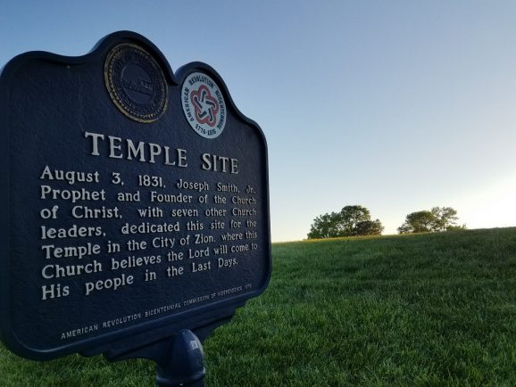 Temple Site in Independence