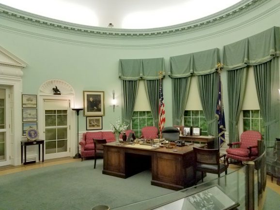 Truman's Oval Office at the Presidential Library