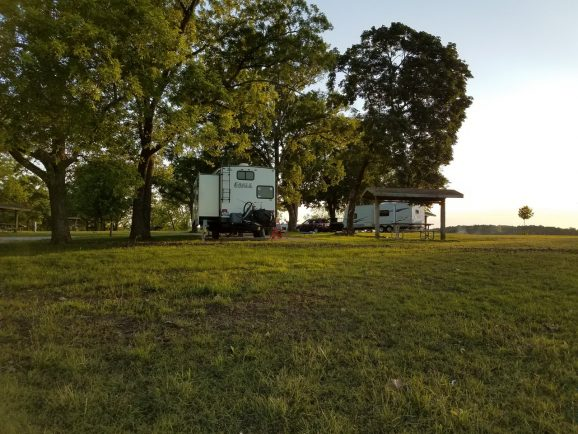 Hermitage Campground, Pomme de Terre State Park, MO