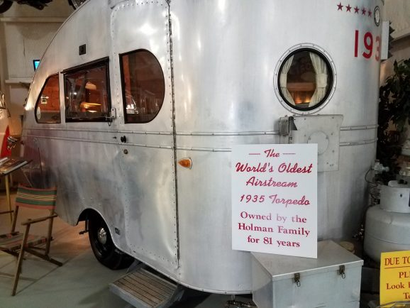 World's Oldest Airstream at the Jack Sisemore RV Museum